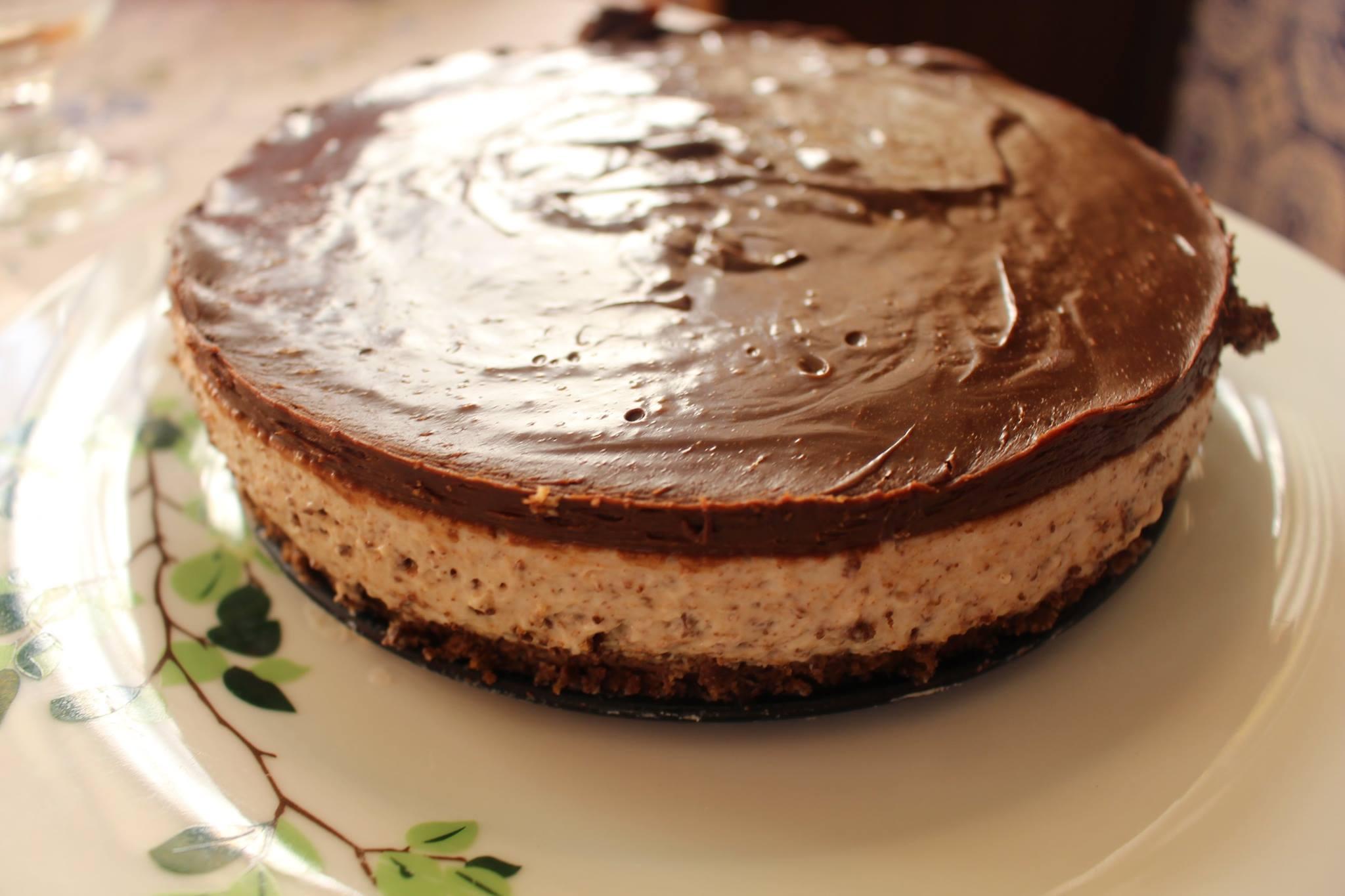 Receita Cheesecake de Straciatella na Bimby