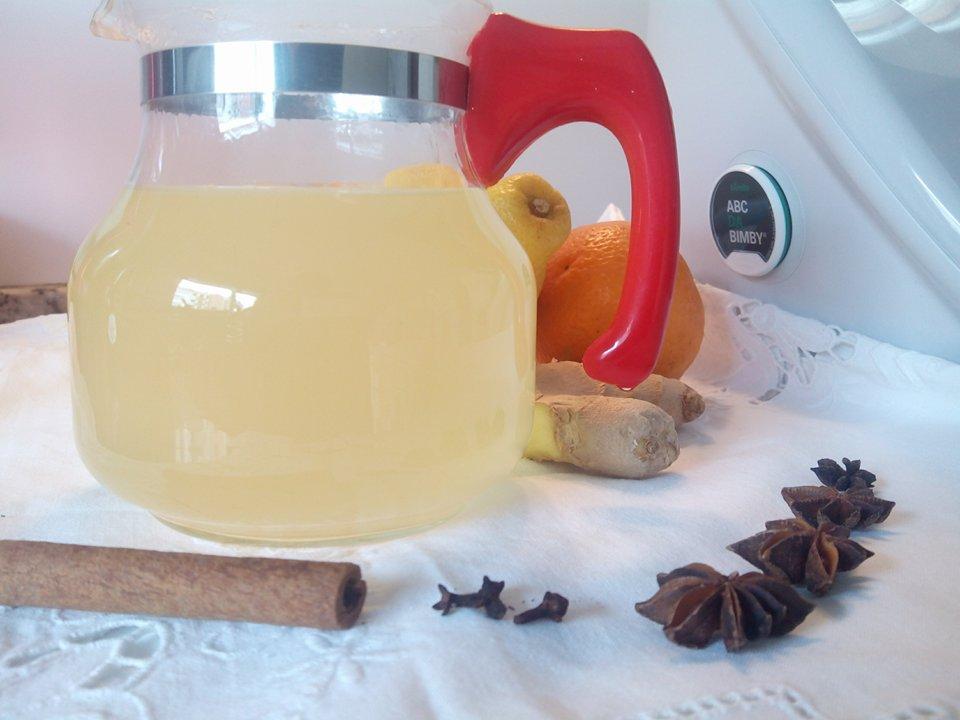 Chá Termogénico Canela e Gengibre