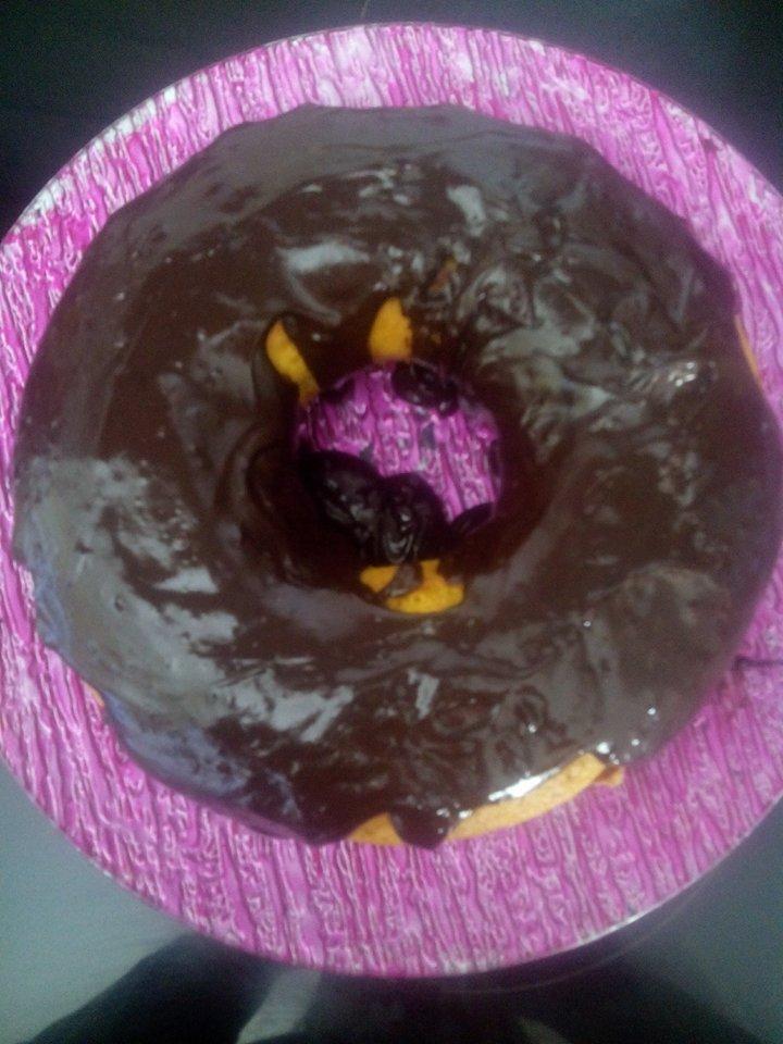 Bolo de Cenoura com cobertura de chocolate - Receita Bimby