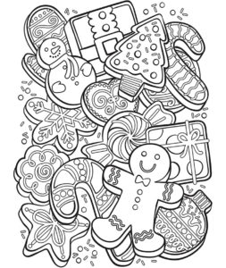 Desenhos Grátis para download e pintar de Natal - Downloads Grátis