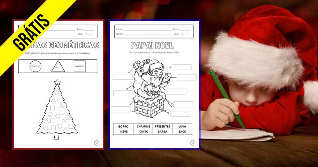 Fichas de Actividades Natal 01