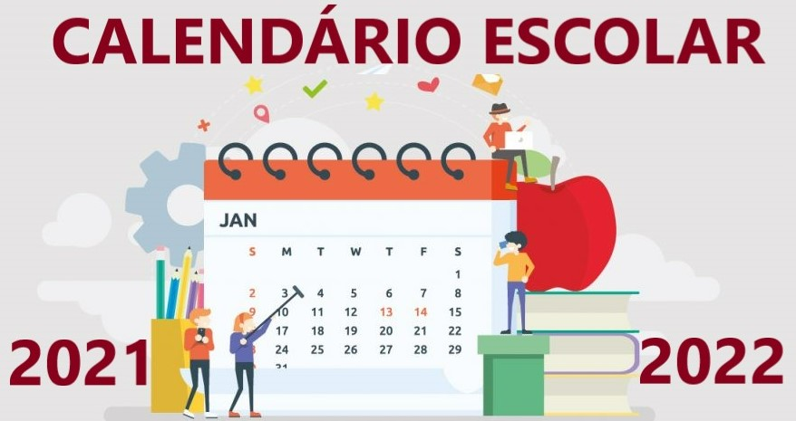 Calenário Escolar 2021-22
